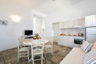 apartment 4 ambelas mare kitchen